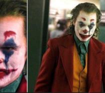 Collage tra immagini del nuovo Joker