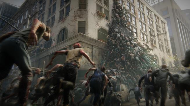 Una sequenza del trailer del videogame di World War Z