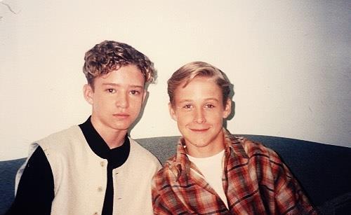Justin Timberlake & Ryan Gosling nel 1994