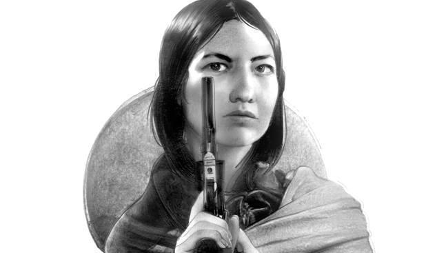 Un'indiana Apache nei disegni di Greg Ruth per il fumetto Indeh