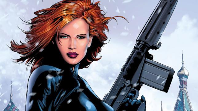 Black Widow nei fumetti