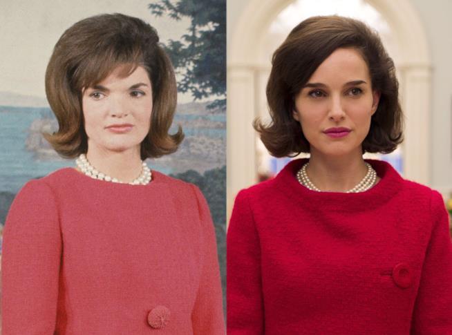 La vera Jackie Kennedy e Natalie Portman