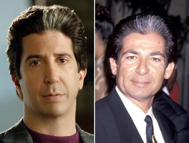 David Schwimmer interpreta Robert Kardashian