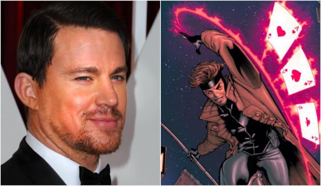 Channing Tatum, protagonista di Gambit