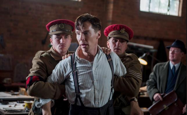 La scena dell'arresto in The Imitation Game