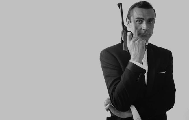 Sean Connery in una foto promozionale di 007