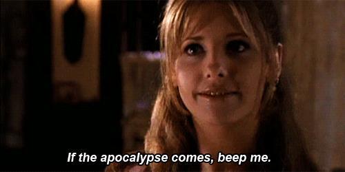 Una GIf di Buffy