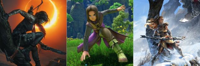 Shadow of the Tomb Raider, Dragon Quest XI e Horizon: Zero Dawn scontati su PS Store