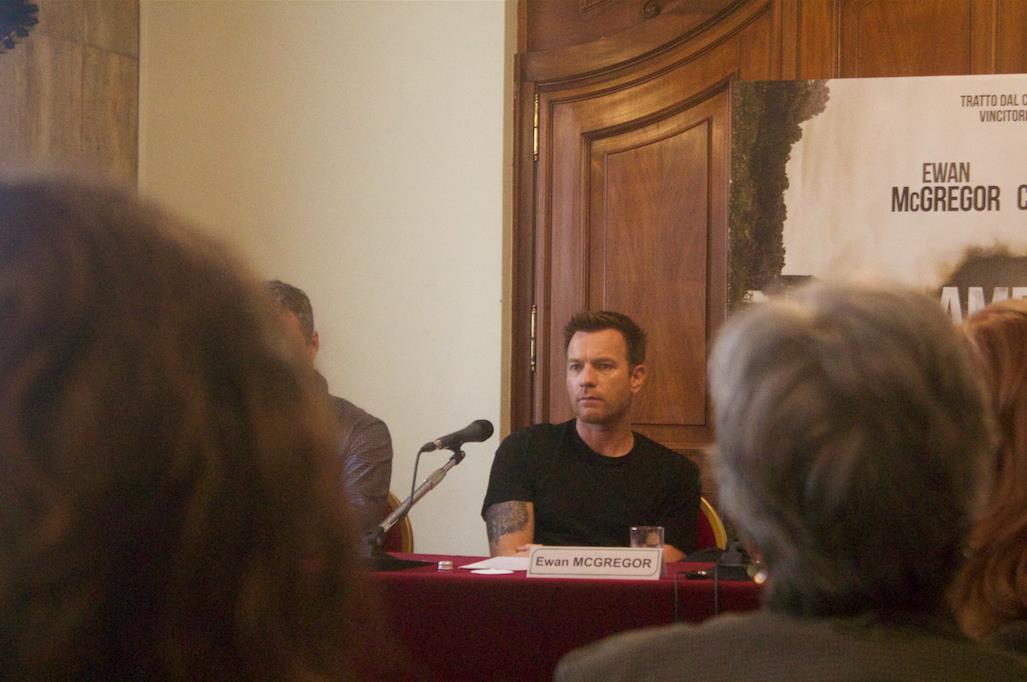 Conferenza Stampa del film American Pastoral con il regista e attore Ewan McGregor.