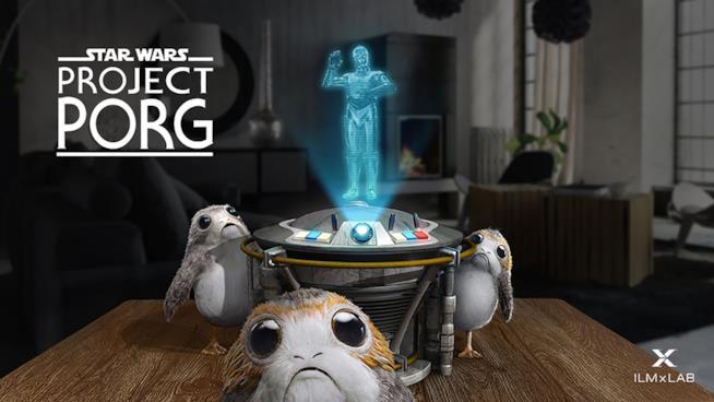 Project Porg per allevare le piccole creature di Star Wars