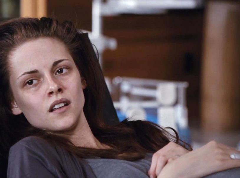 Una scena di Breaking Dawn con Bella