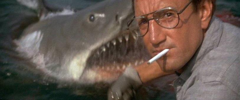Martin Brody alle prese con il terribile squalo bianco