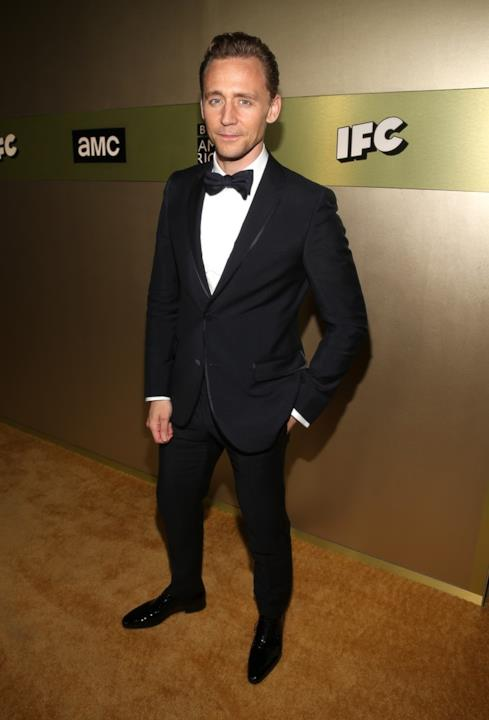 Red carpet Emmy Awards 2016: Tom Hiddleston in Gucci