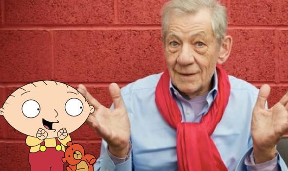 Ian McKellen in un'immagine promozionale