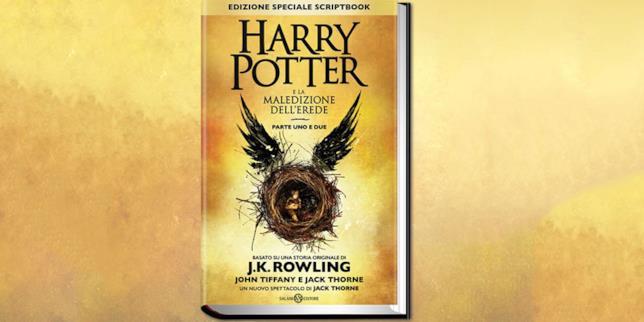 Nuovo libro Harry Potter