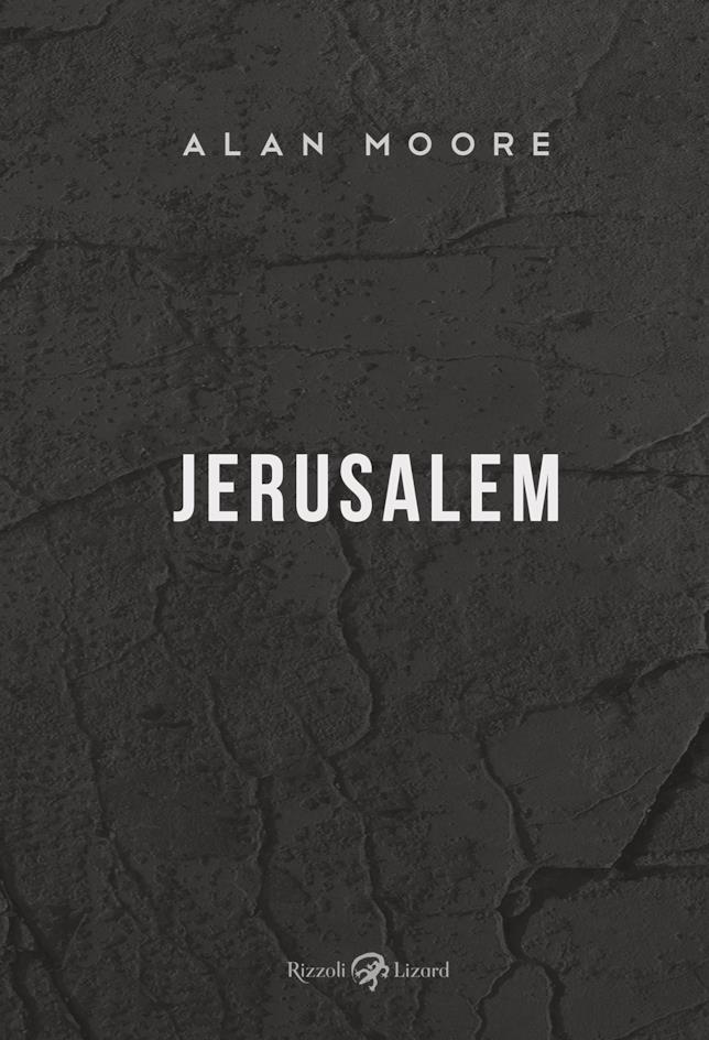 Alan Moore, la copertina di Jerusalem