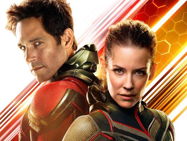 Poster di Ant-Man and the Wasp con Paul Rudd ed Evangeline Lilly