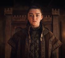 Arya Stark nella settima stagione di Game of Thrones