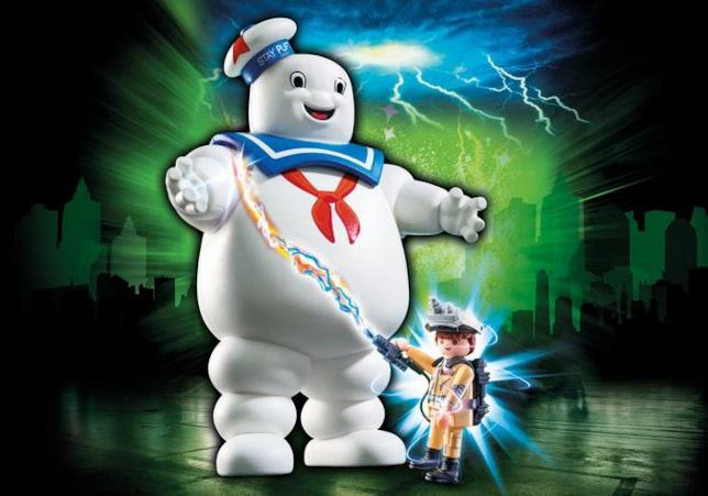 Stay Puft con Ray Stantz