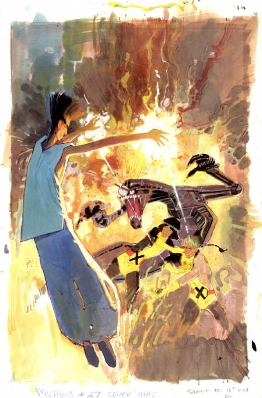 Legione affronta i Nuovi Mutanti