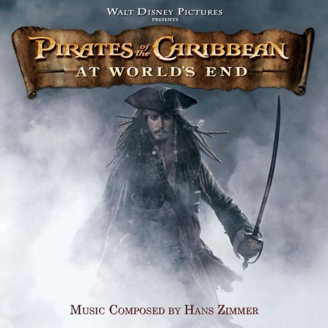 Copertina colonna sonora Ai confini del mondo