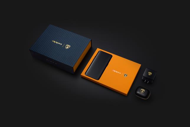 Anche gli accessori di Oppo Find X Lamborghini Edition sono marchiati Lamborghini