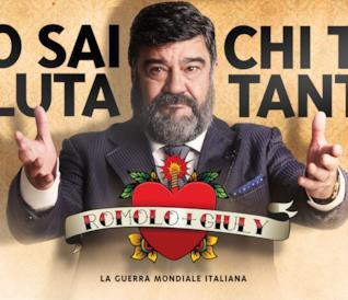Francesco Pannofino protagonista di un poster per Romolo e Giuly