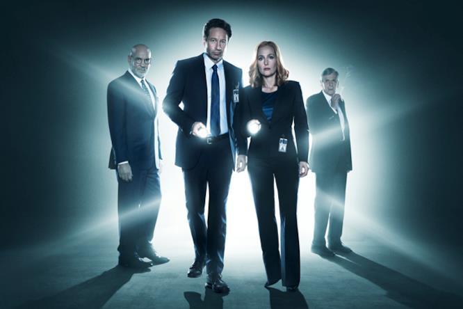 Poster promozionale del revival di X-Files 1