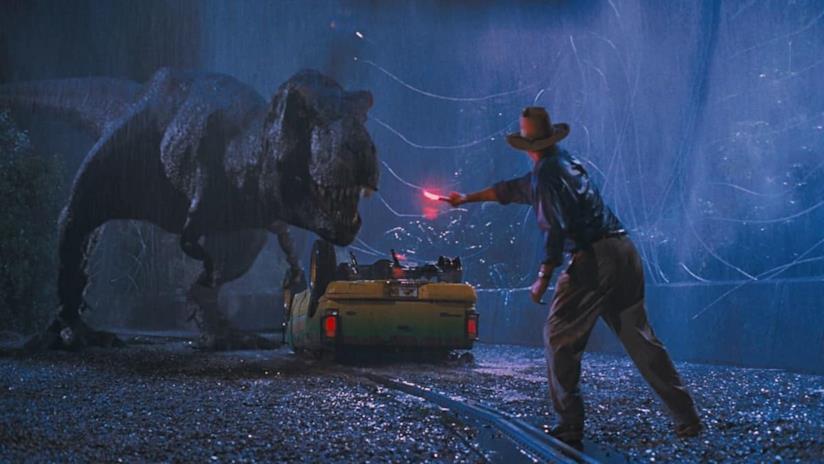 Il T-Rex di Jurassic Park