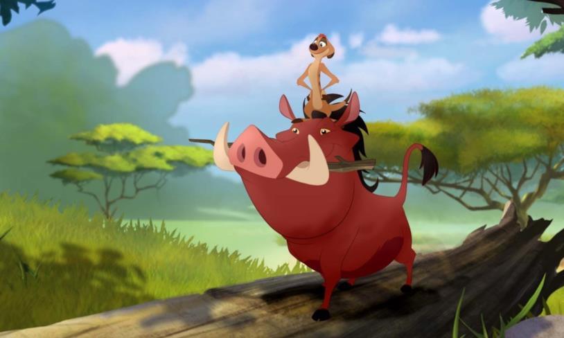 Timon e Pumbaa