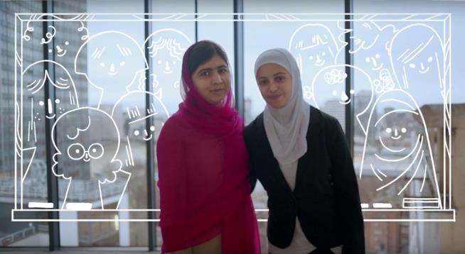 Malala e altre 336 donne raccontano i propri sogni per Google