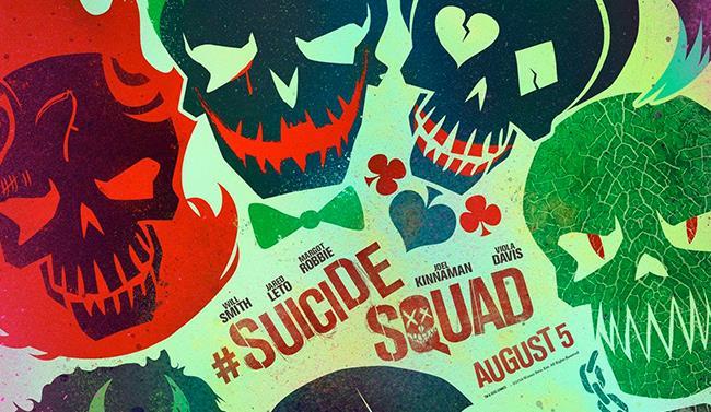 Locandina del film Suicide Squad