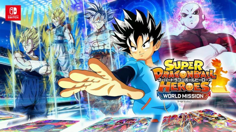 Super Dragon Ball Heroes per Switch