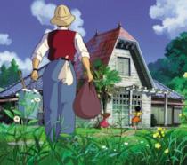 Un'immagine dal film Il mio vicino Totoro