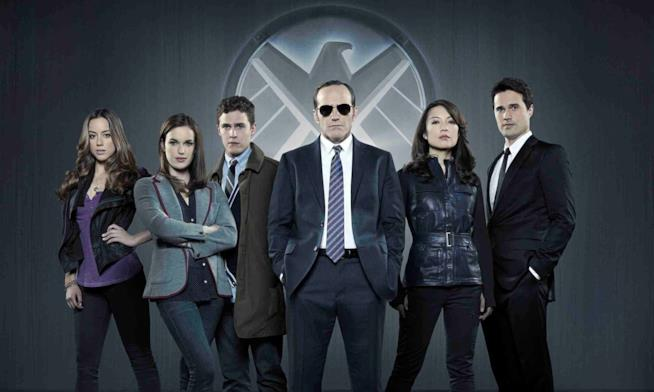 I protagonisti di Agents of S.H.I.E.L.D.