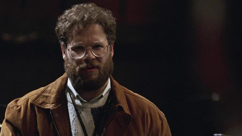 Seth Rogen in una scena del biopic Steve Jobs