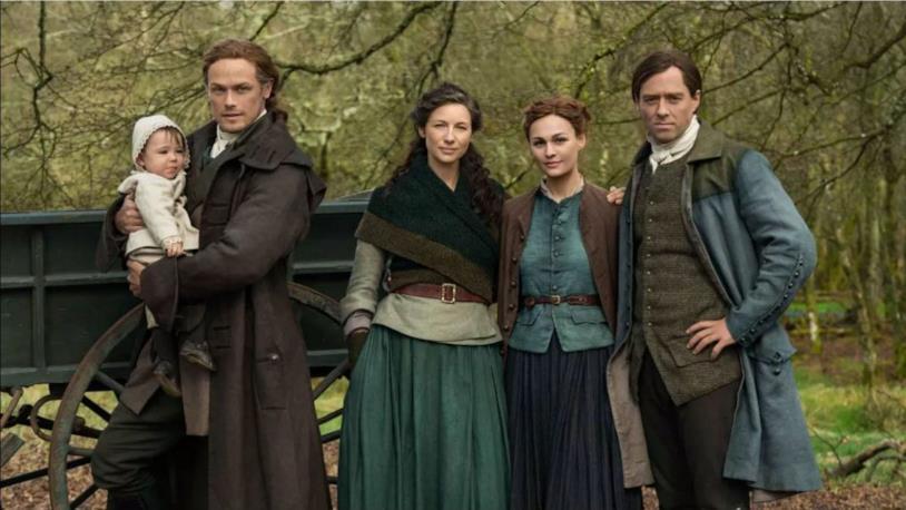 I protagonisti nella quinta stagione di Outlander