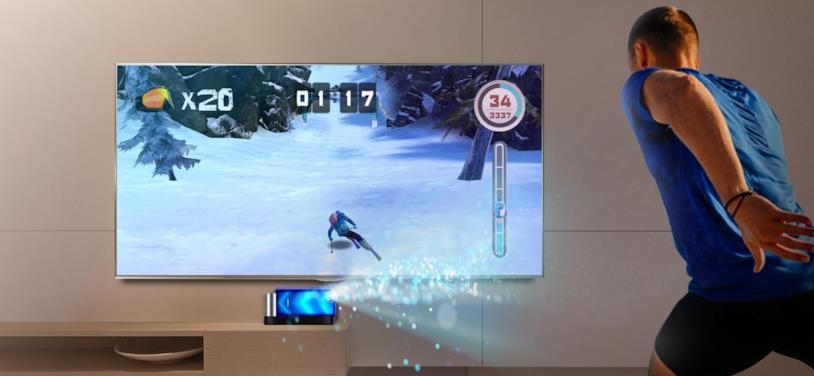 Foto promozionale per la nuova modalità di gioco di Honor View20