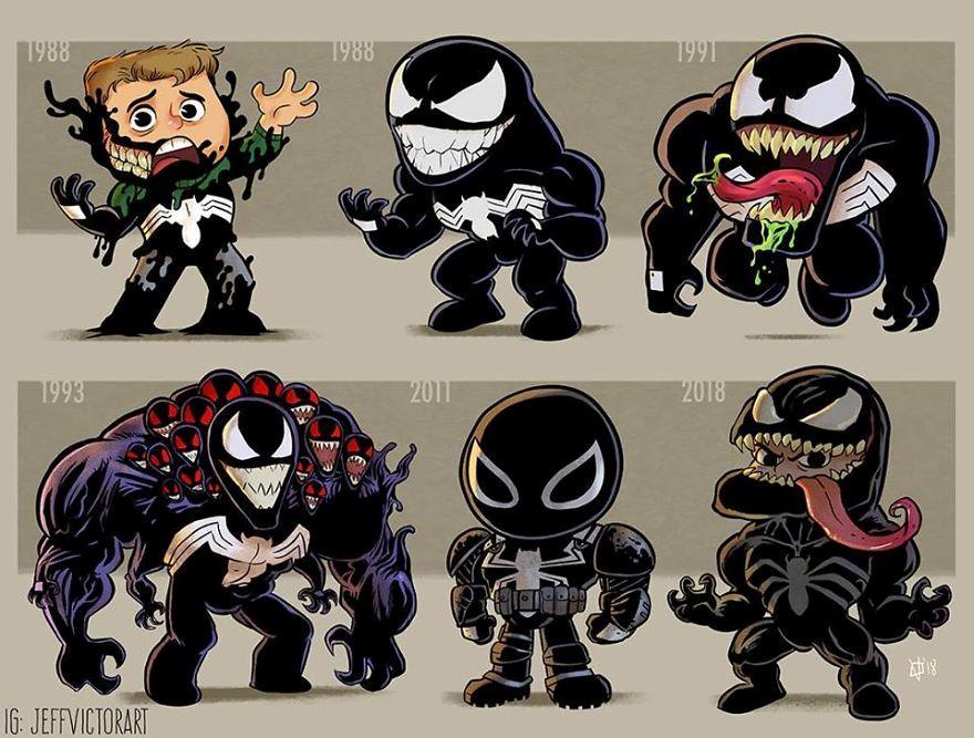 L'evoluzione delle icone della cultura pop: Venom