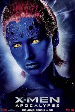 Un poster del film con il primo piano di Mystica