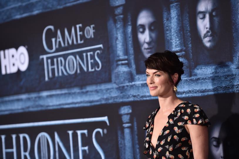 Lena Headey a una delle premiére di Game of Thrones