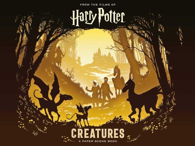 Copertina per Harry Potter: Creatures: A Paper Scene Book