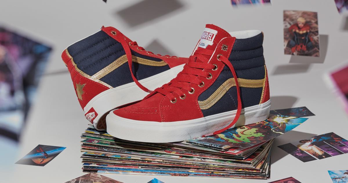 Marvel e Vans insieme per una nuova linea di scarpe