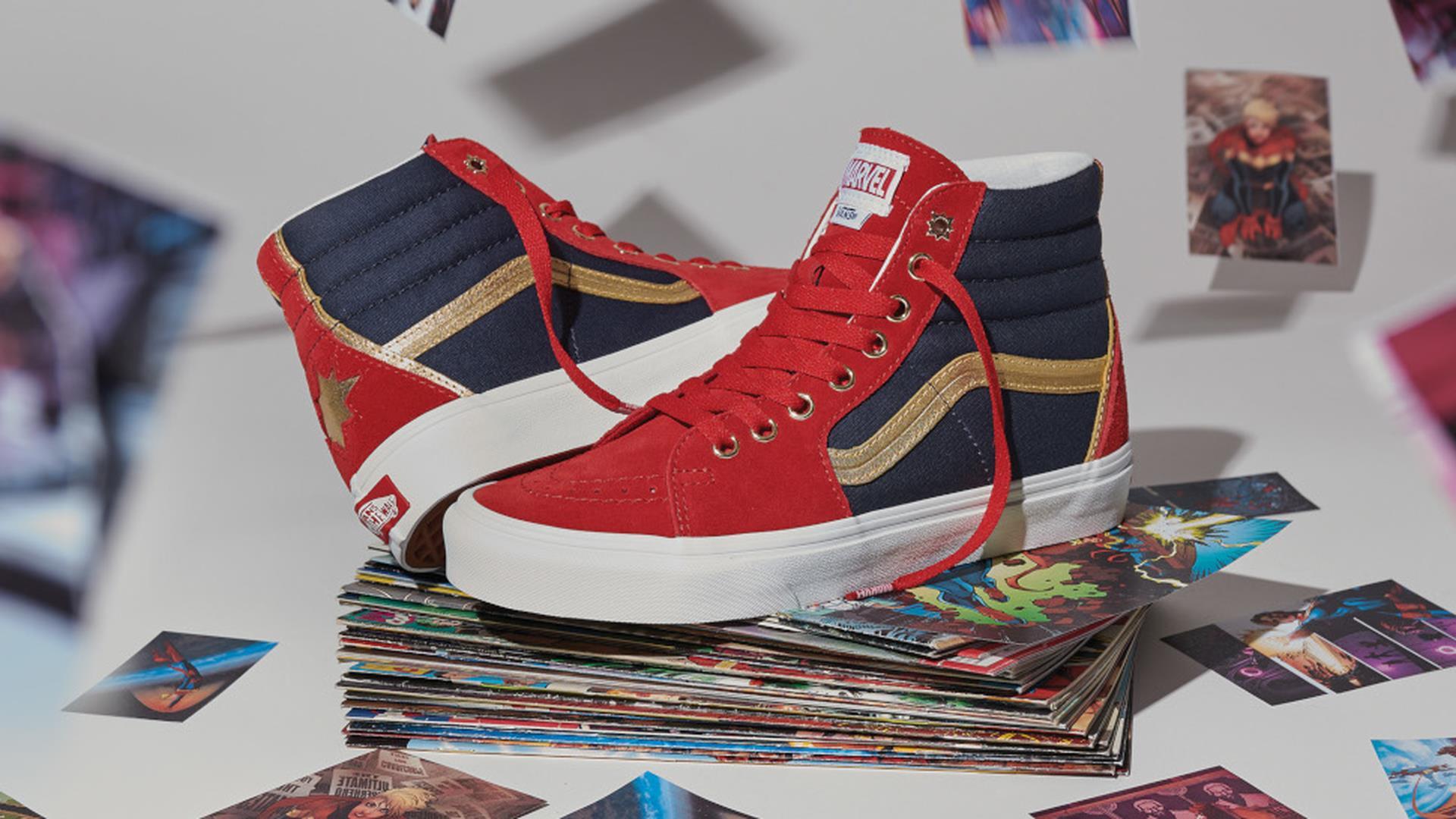 Marvel x Vans: la collezione di scarpe eroiche nelle prime