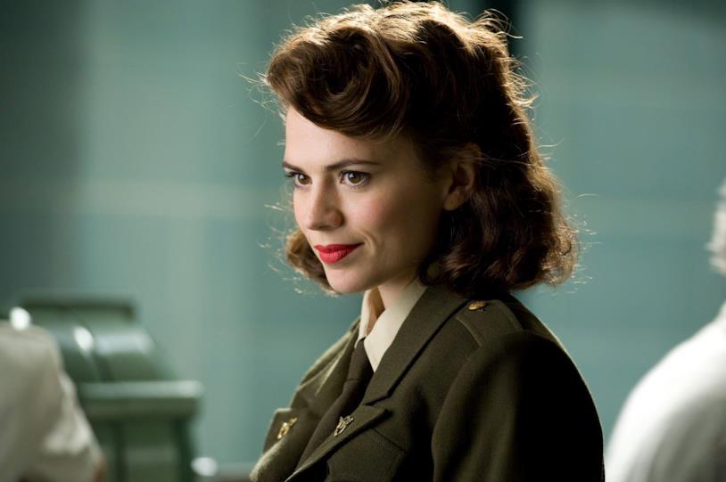 Hayley Atwell nei panni di Peggy Carter in Captain America - Il primo Vendicatore