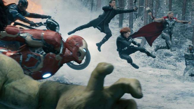 Gli Avenger in azione