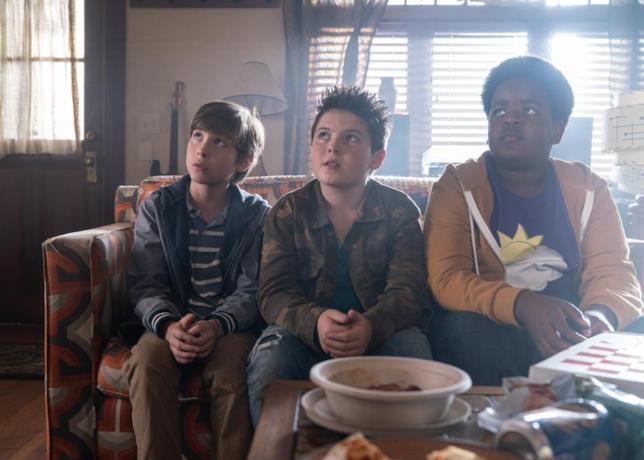 Da sinistra: Jacob Tremblay, Brady Noon e Keith L. Williams