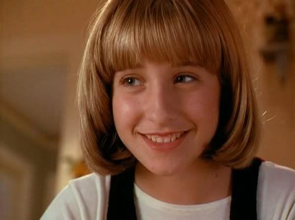 Allison Mack quando era una bambina in Tesoro, ci siamo ristretti anche noi