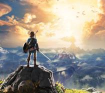 Un artwork ufficiale di The Legend of Zelda: Breath of the Wild