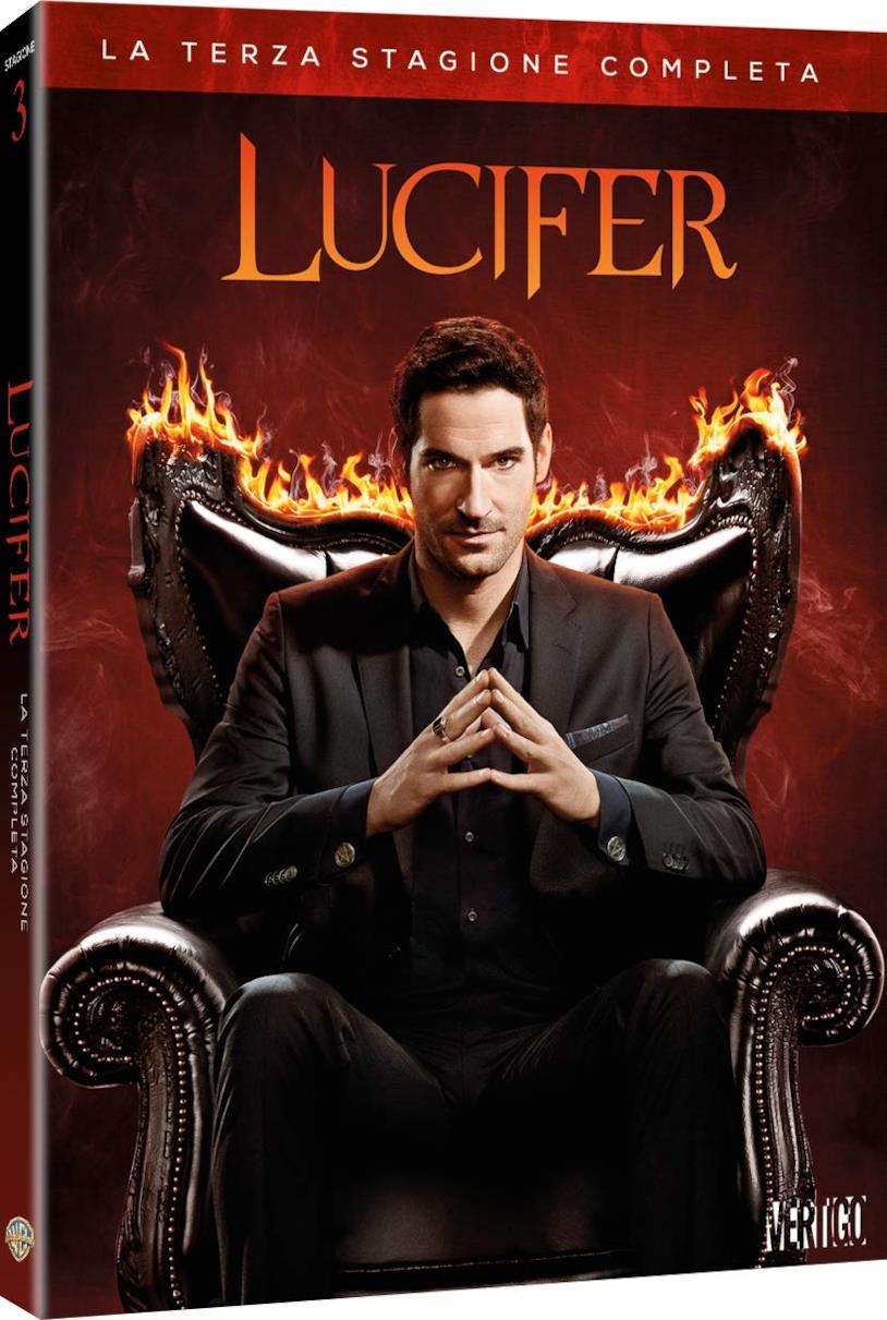 Lucifer Terza stagione - la serie in formato DVD